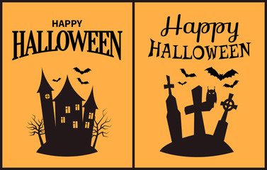 Happy Halloween Scary Congratulation Poster