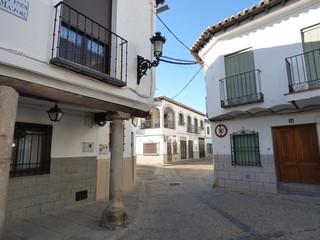 Orgaz. Pueblo de Toledo, en la comunidad autónoma de Castilla La Mancha ( España)