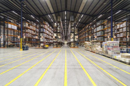 Centro logístico, silo e instalaciones de almacenaje