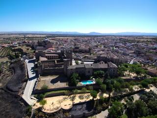 Oropesa. Pueblo de Toledo, en la comunidad autónoma de Castilla La Mancha (España)