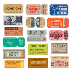 Event ticket collection