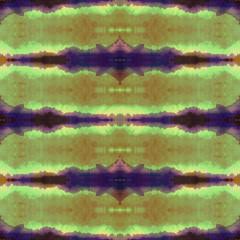 Watercolor shibori indigo pattern. Indigo japanese tie dye style. Hand painting fabrics - nodular batik. Batic dyeing background. Hand drawn abstract print. Good for fabrics, wallpapers, cards, covers