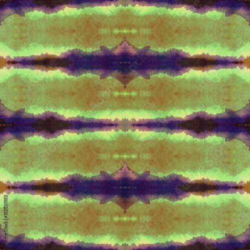 Watercolor shibori indigo pattern  Indigo japanese tie dye