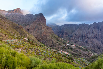 Masca valley, Tenerife, Spain