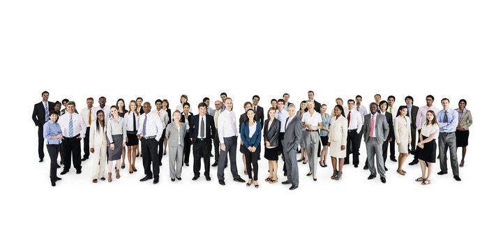Large corporate business presentation