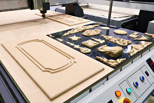 Industrial milling engraving machine