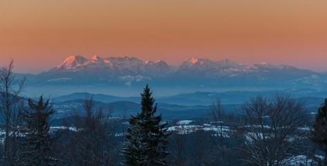 Panorama Kamnisko–Savinjske Alps