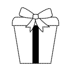 gift box present icon vector illustration design
