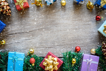Festival christmas and gift boxes