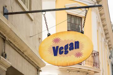 Schild 278 - Vegan
