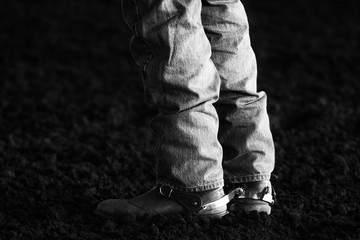 Boots and Spurs at the rodeo