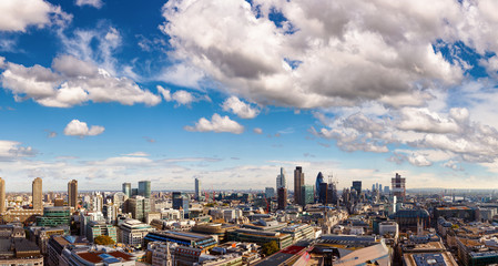 London cityscape panorama in 2012 Wall mural