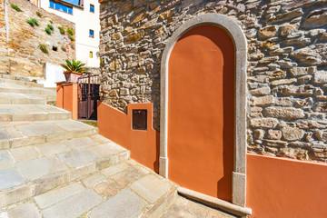 View of Scarlino in Maremma, Tuscany, Italy