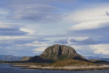 Torghatten, Norwegen