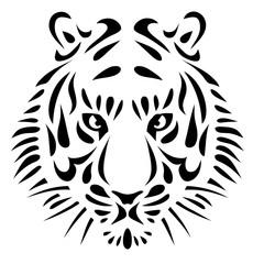 un dessin de tigre design