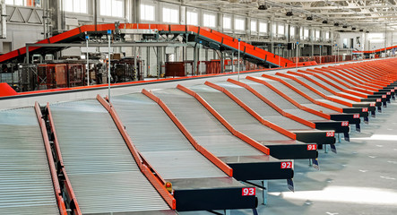 Automated sorting center