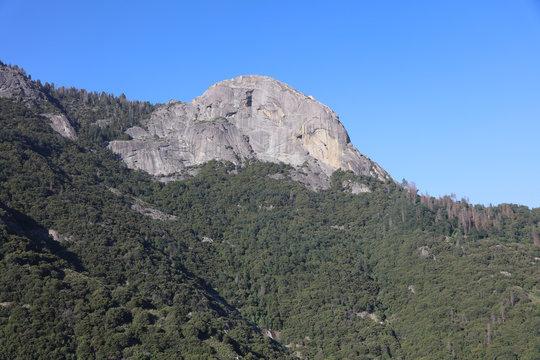 Moro Rock in Sequioa National Park. California. USA