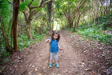 Hiking Oahu Hawaii with Children