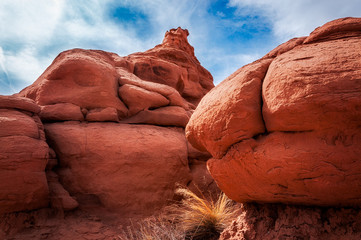 Massive Boulders at Kodachrome Basin State Park, Utah, USA