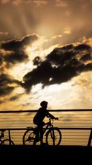 bicycle at high noon