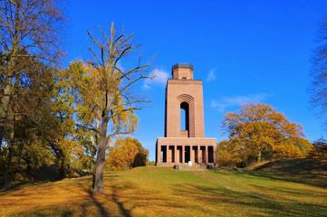 Burg Bismarckturm - Burg Bismarck tower in Spree forest