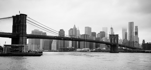 Brooklyn Bridge New York City East River Manhatten
