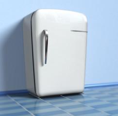 Old refrigerator (3d)