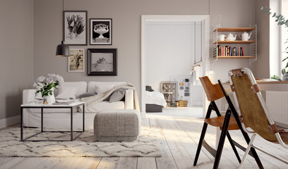 Kleines Altbau Apartment - small swedish vintage apartment downtown