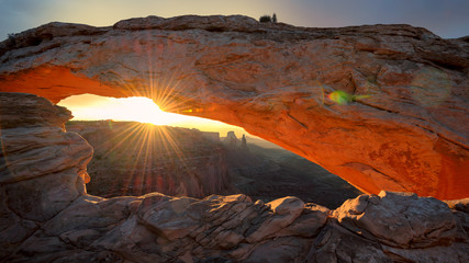 Mesa Arch, Sunrise, Canyonlands National Park, Utah.