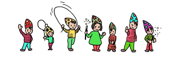 tovenaar doodle feest
