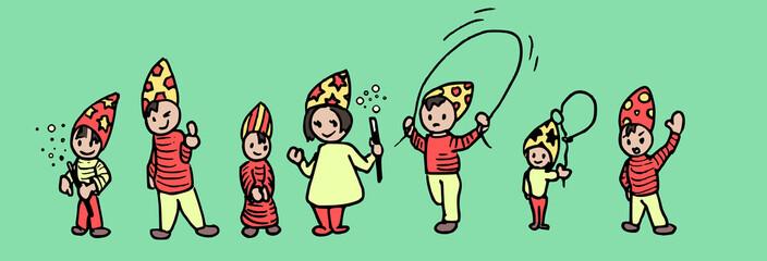 tovenaar doodle partijtje