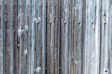 Old grey wooden texture background with vertical planks