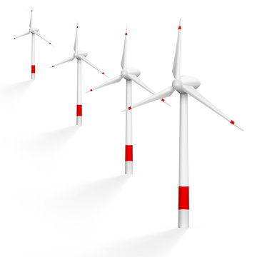 Realistic Wind Generator With Shadow
