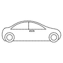 modern car isolated icon vector illustration design