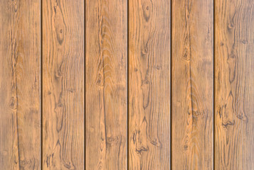 Background, the texture of brown wooden planks old with organic patterns closeup