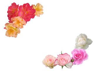 薔薇フレーム 素材