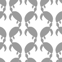 Ocean Turtle Seamless Pattern