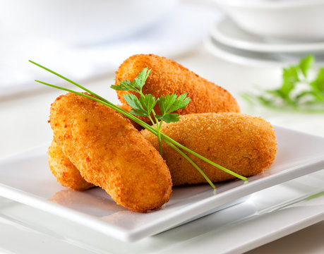 Gourmet croquettes