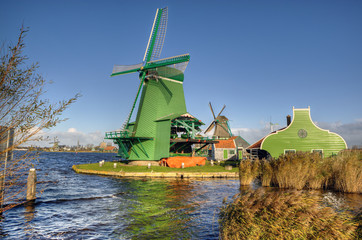 Zaanse Schans Windmill - the Netherlands