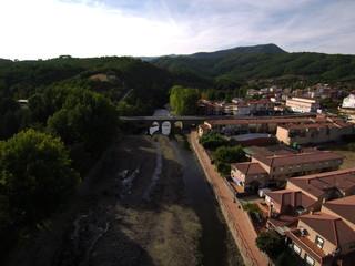 Pinofranqueado. Pueblo de Cáceres, en la comunidad autónoma de Extremadura, España
