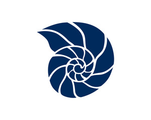 Simple Classic Coral Animal Illustration Logo Symbol