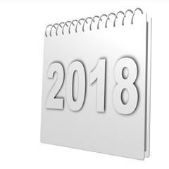 calendrier 2018 gris