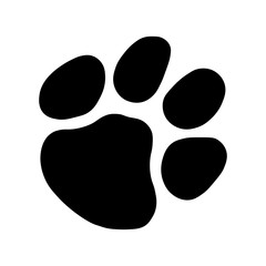 Cat Paw Footprint