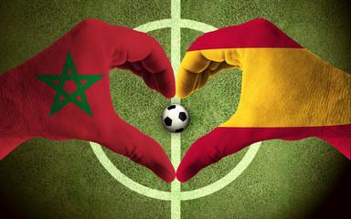 Morocco vs Spain