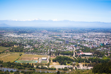 Talca from above