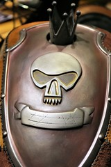 An Image of a motorcycle fuel tank
