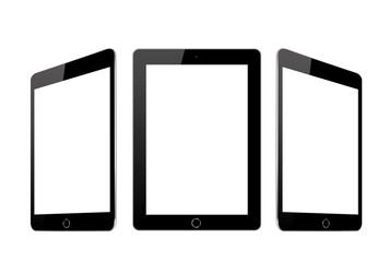 Vector image of tablets in a flat style - vector