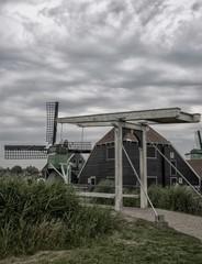 Architecture à Zaanse Schans, Zaandam, Zaan, Pays-Bas