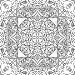 Adult colouring book page