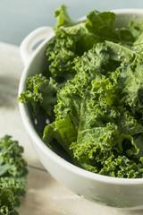 Raw Green Organic Curly Kale
